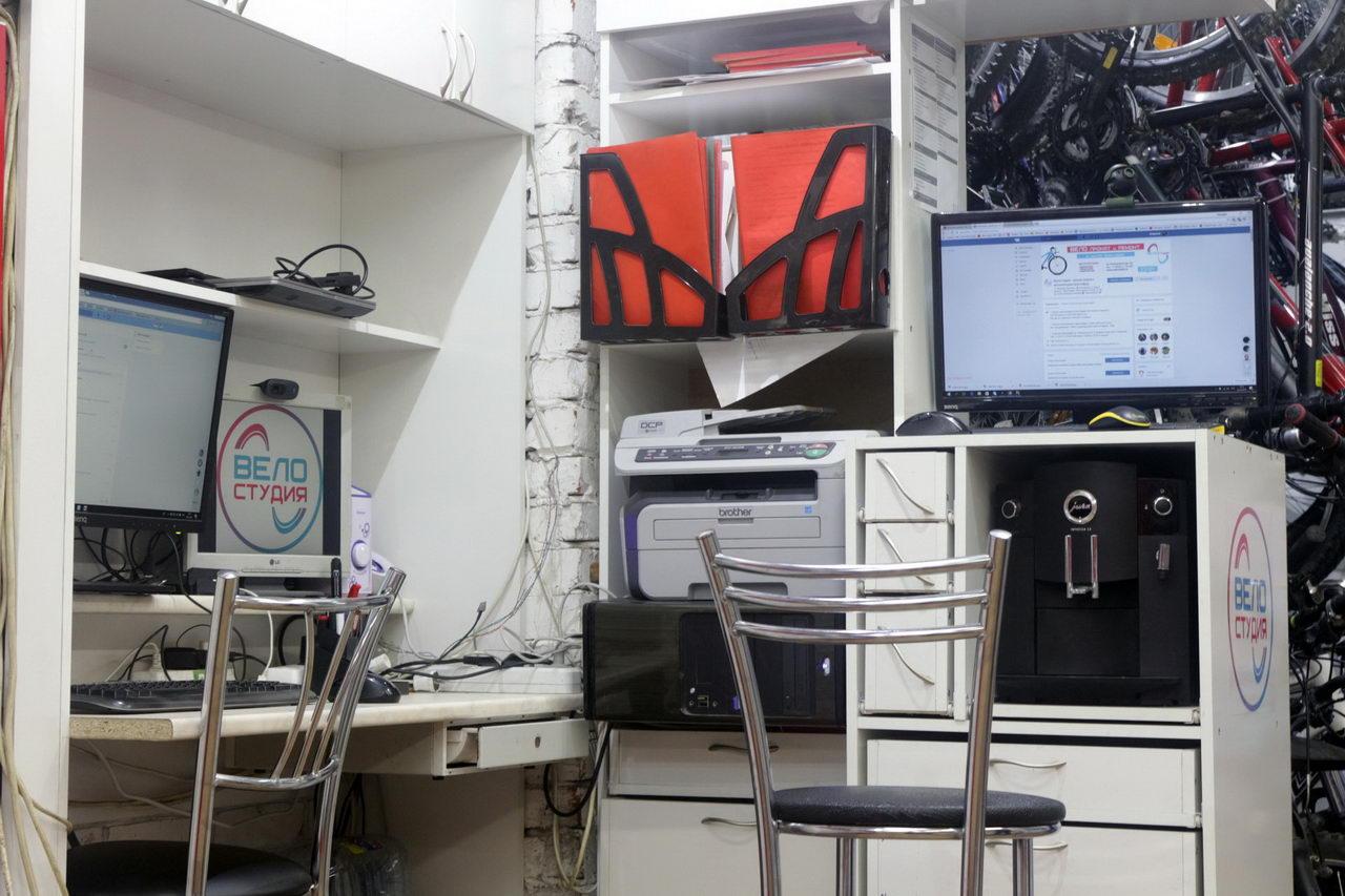 Веломастерская офис